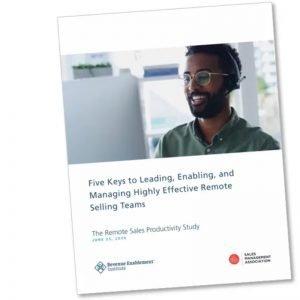 Remote Selling Teams Report